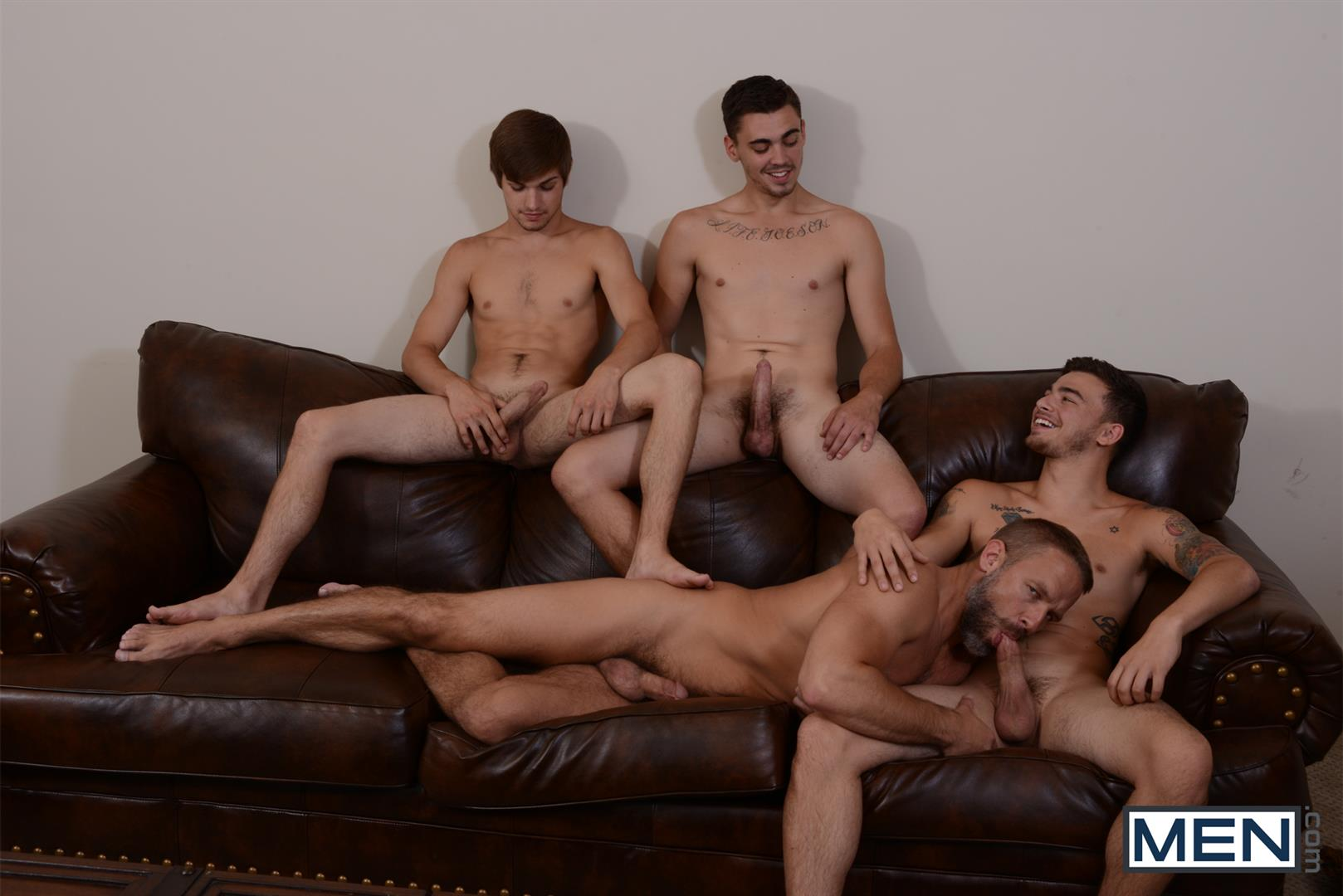 Men-Jizz-Orgy-Asher-Hawk-and-Dirk-Caber-and-Johnny-Rapid-and-Trevor-Spade-Triple-Penetrated-In-the-Ass-Amateur-Gay-Porn-09 Stepfather Dirk Caber Gets TRIPLE Penetrated By His Stepsons