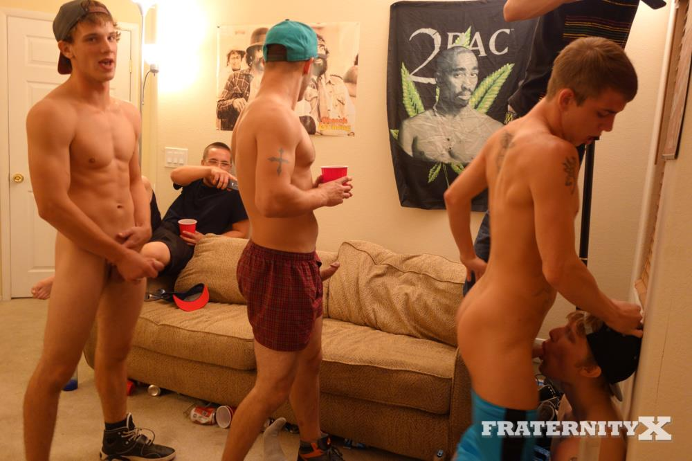 Fraternity-X-Jay-College-Frat-Guys-Fucking-Bareback-Big-Cocks-Amateur-Gay-Porn-05 Redhead College Frat Guy Takes Bareback Cocks In Both Holes