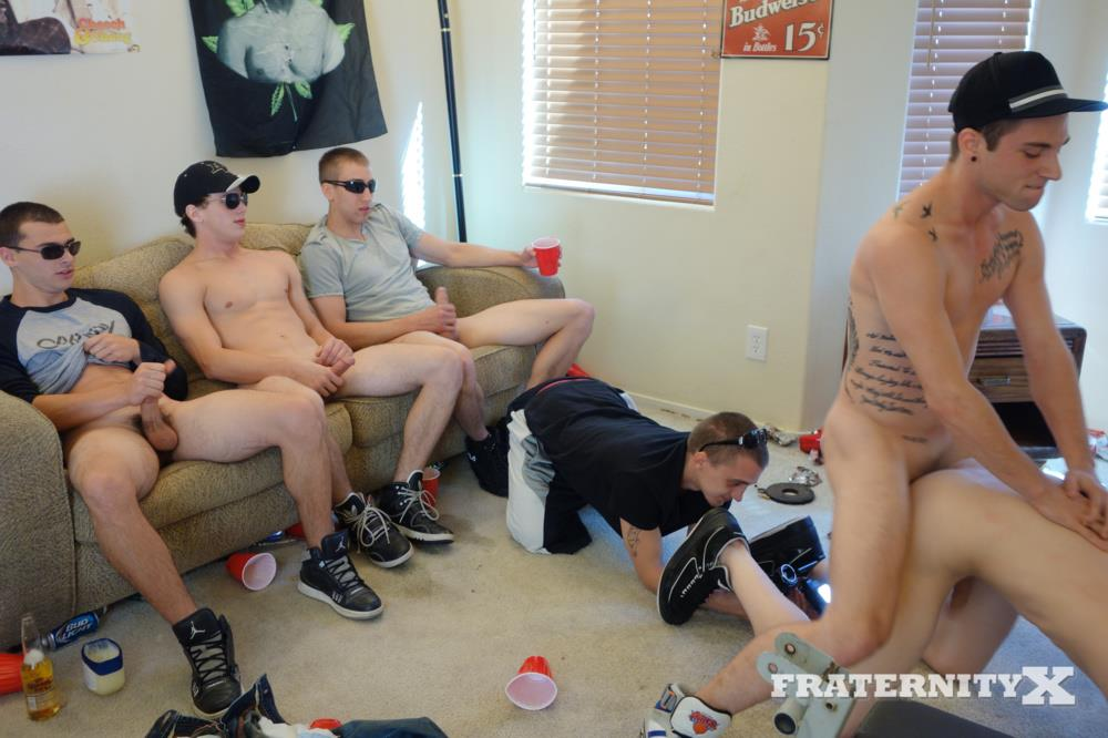 Fraternity-X-Naked-Frat-Guys-Bareback-Sex-Party-Big-College-Cock-Amateur-Gay-Porn-10 Drunk Straight Frat Boys Bareback Fucking After The Superbowl