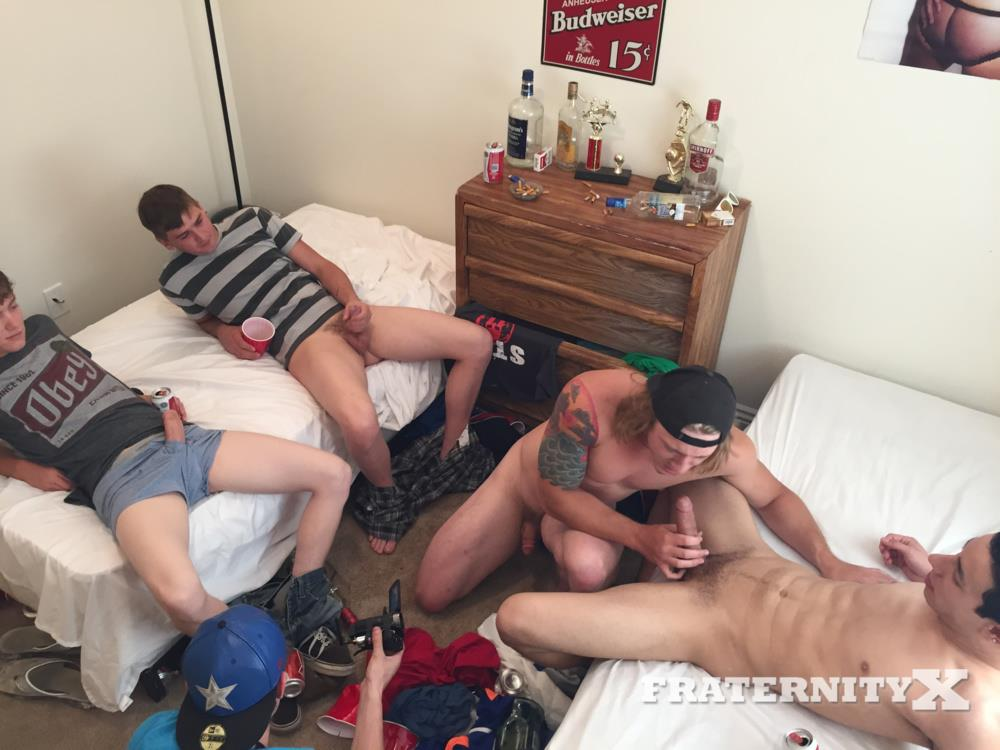 Fraternity-X-College-Guys-Fucking-Bareback-Video-Amateur-Gay-Porn-09 Drunk Frat Guys Sucking Cock And Getting Fucked Bareback