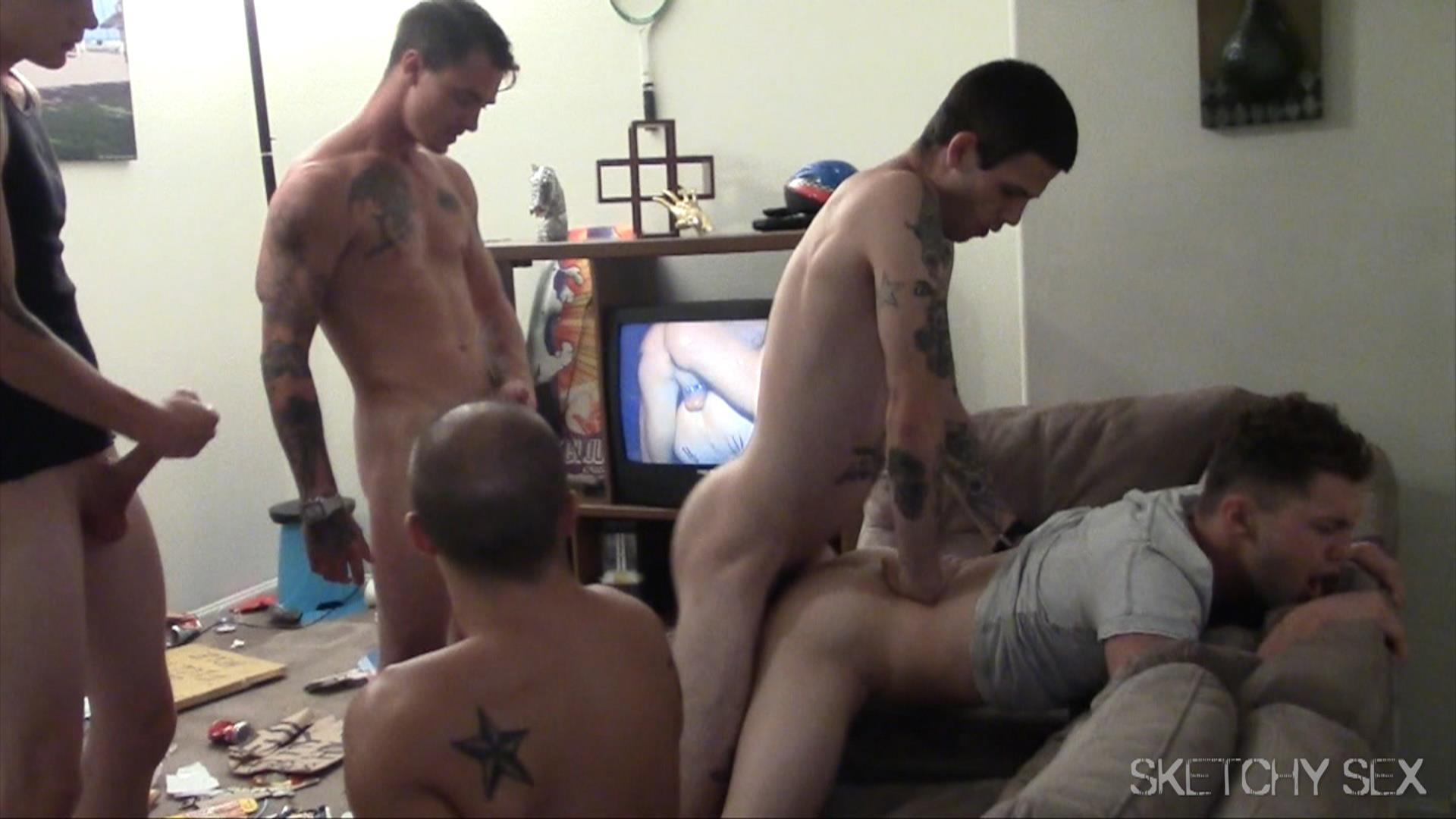 Sketchy Sex Bareback Breeding Party Amateur Gay Porn 14 Hosting An Anonymous Bareback Breeding Party