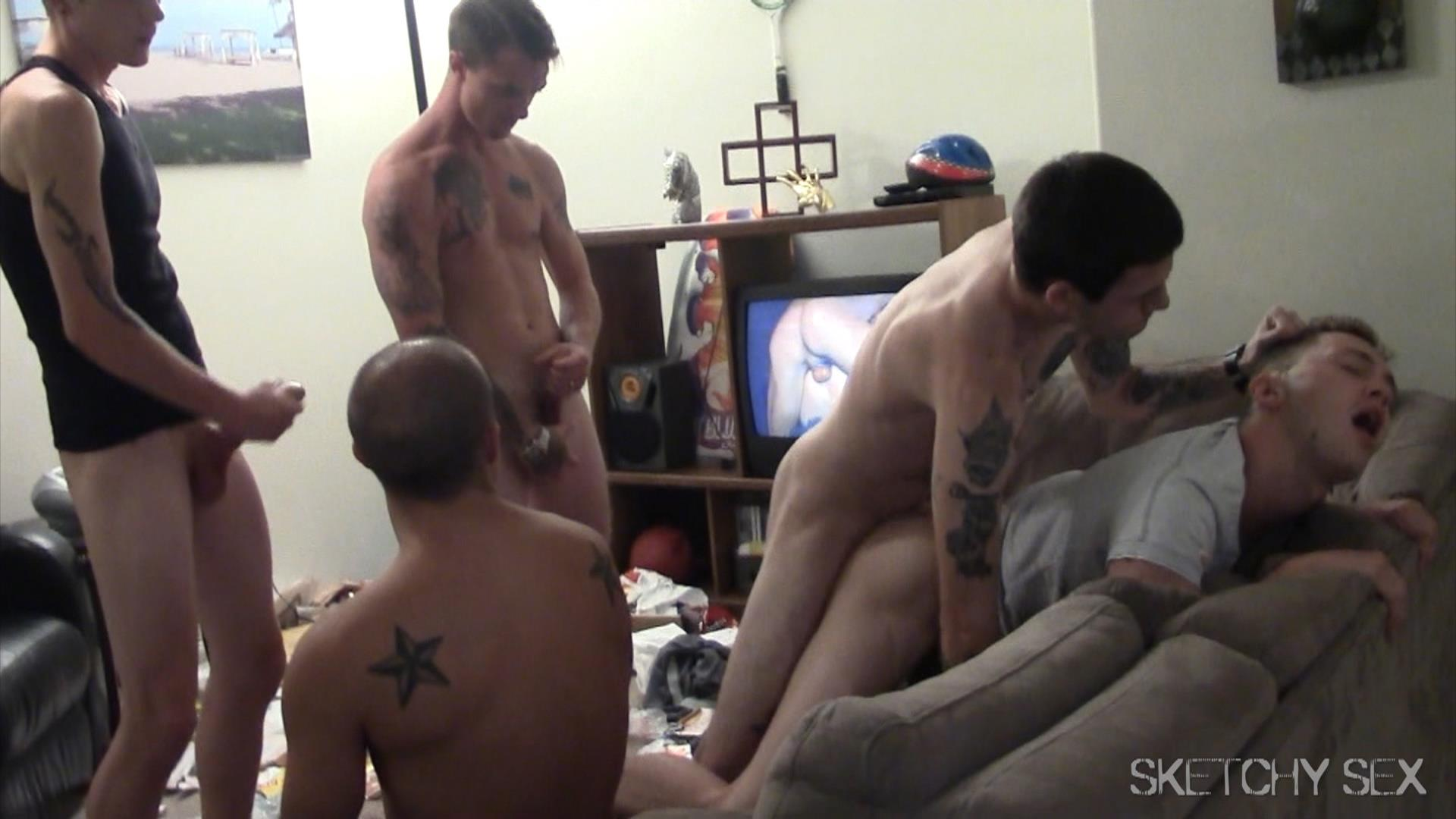 Sketchy Sex Bareback Breeding Party Amateur Gay Porn 16 Hosting An Anonymous Bareback Breeding Party