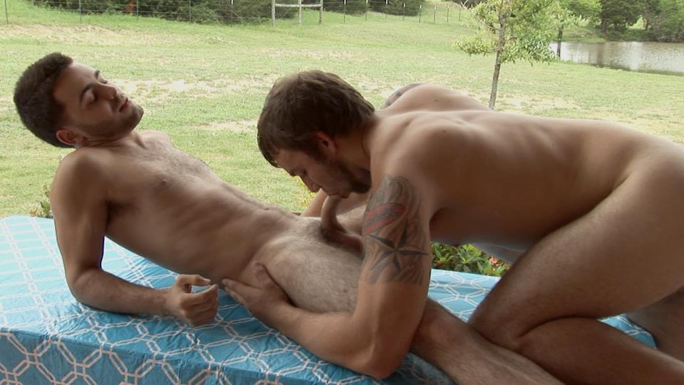 Southern Strokes Josh and Logan Hairy Texas Twinks Fucking Outside Amateur Gay Porn 08 Hairy Texas Twinks Share an Outdoor Fucking At The Ranch